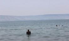 بدء موسم السباحة في بحيرة طبرية الشهر المقبل