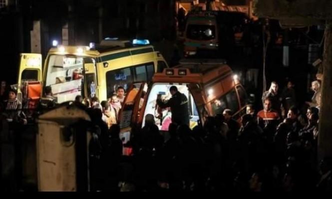 ارتفاع عدد ضحايا انهيار مبنى بالقاهرة لـ12 قتيلا