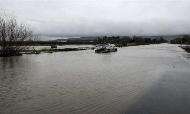 مصرع 3 جراء عواصف وفيضانات بالولايات المتحدة