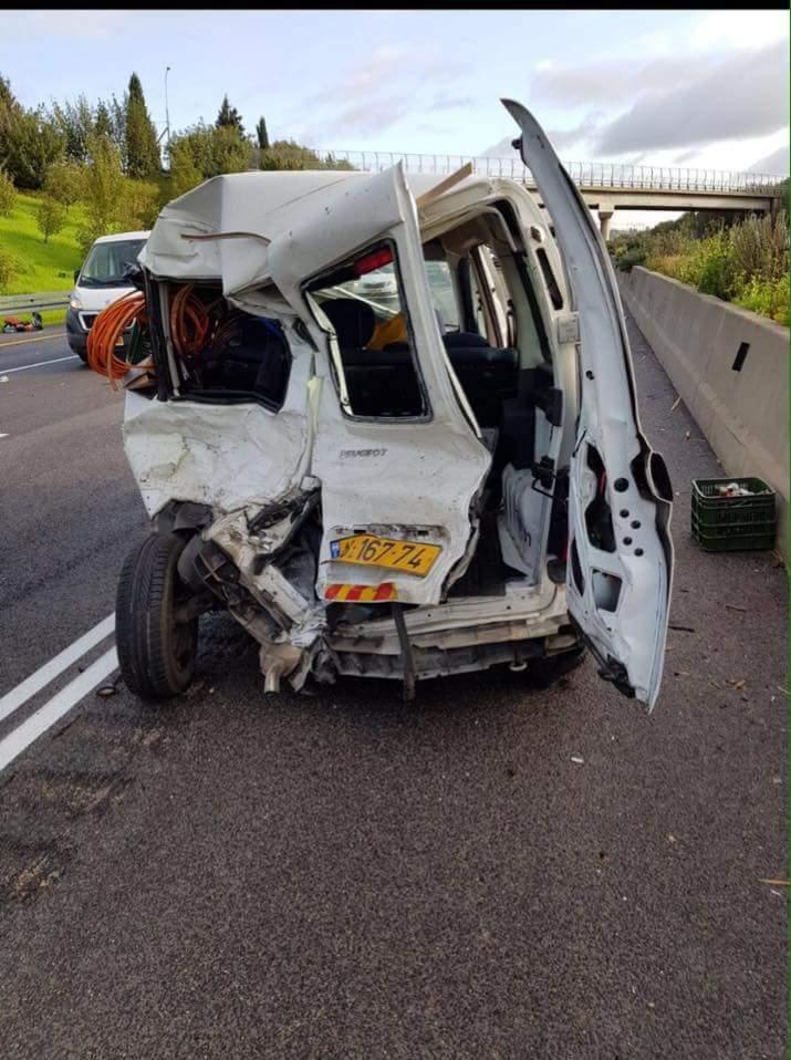 4 إصابات في حادث طرق قرب وادي عارة