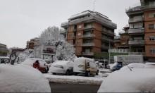 الثلوج تكسو أوروبا و26 درجة تحت الصفر ببعض الدول