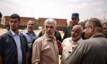 وفد أمني مصري يلتقي السنوار في غزة