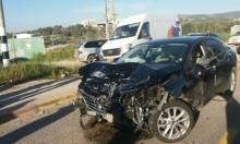 عبلين: إصابة شخصين في حادث طرق