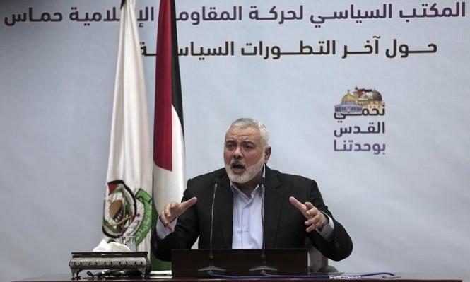 وفد حماس برئاسة هنية يعود إلى غزة بعد زيارة القاهرة