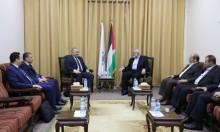 هنية يجتمع بالوفد الأمني المصري بغزة