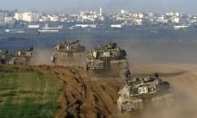 اعتقالات بالضفة توغل بغزة والاحتلال يفجر علمين فلسطينيين