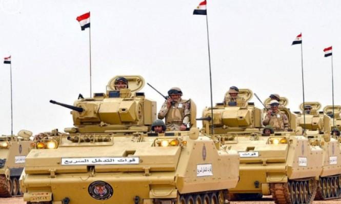 إسرائيل توافق على مضاعفة القوات المصرية في سيناء