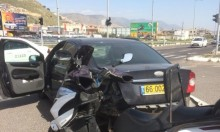 3 إصابات في حادث طرق على مفرق مجد الكروم