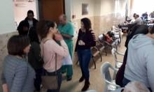 الناصرة: التجاوب مع حملة التبرع بالدم للدكتور نصير فاق التوقعات