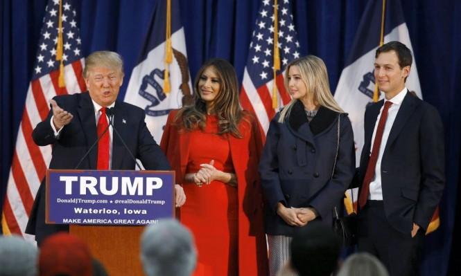 ترامب يتطلع لإبعاد إيفانكا وكوشنير عن البيت الأبيض