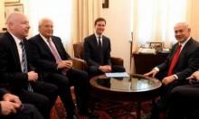"""نتنياهو يبحث مع غرينبلات وكوشنير """"صفقة القرن"""""""