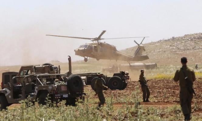 """الاحتلال يخلي مساكن """"خربة ابزيق"""" للتدريبات العسكرية"""