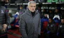 مورينيو يلوم لاعبيه رغم الفوز على كريستال بالاس