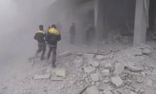 """""""النظام استهدف قافلة مساعداتنا الإنسانية في الغوطة"""""""
