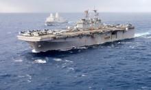 حاملة طائرات أميركية ترسو بحيفا ضمن مناورات عسكرية