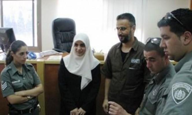 منع زوجة الأسير إبراهيم إغبارية من مشيرفة من زيارته
