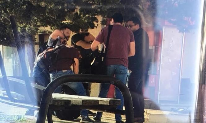 وحدة مستعربين تقتحم جامعة بير زيت وتختطف رئيس مجلس الطلبة