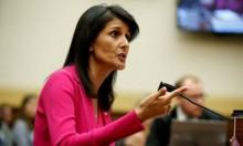 هيلي: أميركا قلقة على مصير إسرائيل جراء التهديدات الإيرانية