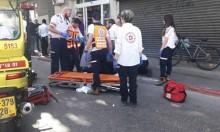 مصرع عامل في حريق داخل مصنع بخليج حيفا