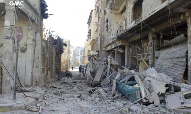 قصف النظام يمنع تسليم المساعدات الإنسانية للغوطة