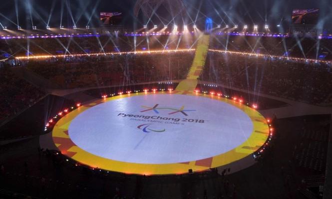 افتتاح الألعاب البرالمبية الشتوية