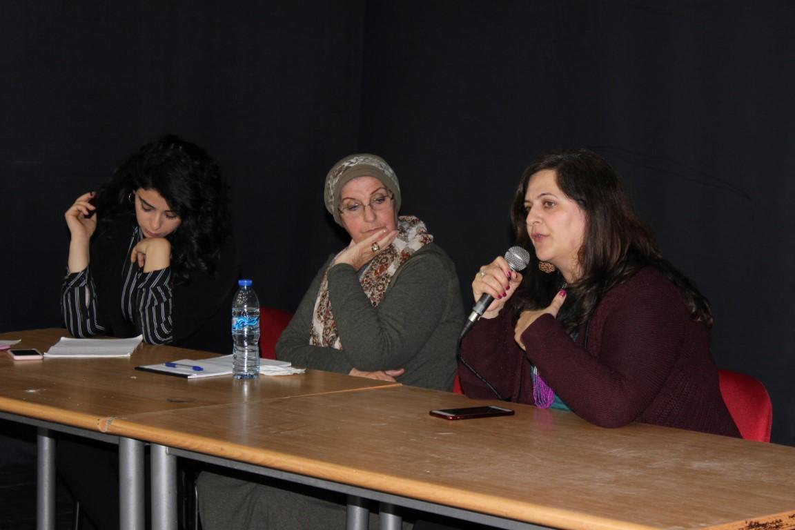 مجد الكروم: ندوة سياسية أدبية بمناسبة يوم المرأة