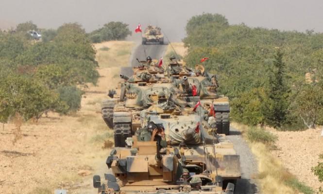 القوات التركية تصل إلى مشارف عفرين