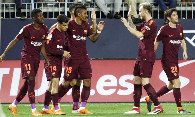بغياب ميسي: برشلونة يحقق فوزا سهلا على ملقا