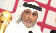عباس يستقبل رئيس الاتحاد القطري لكرة القدم