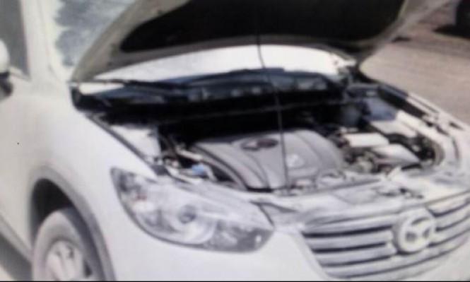 حرق سيارة تابعة لمديرة مدرسة في بسمة طبعون