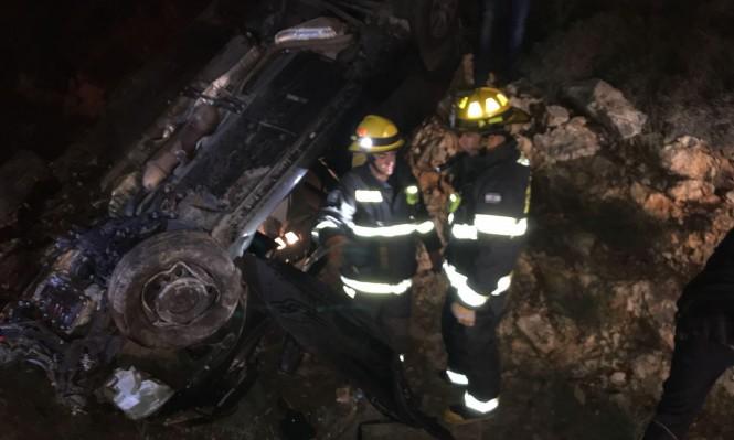 إصابتان خطيرتان في حادث طرق قرب أبو سنان