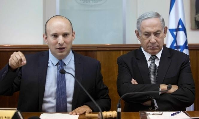 نتنياهو يلتقي قادة الائتلاف على وقع السجال مع بينيت