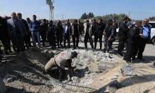 غزة: انفجار استهدف موكب الحمد الله وفرج