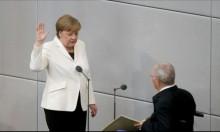 ميركل تؤدي اليمين الدستورة مستشارةً لألمانيا