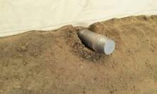 قذيفة مدفعية مصرية تسقط في رفح الفلسطينية
