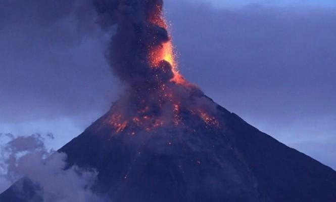 بركان ضخم دمر أجزاء من العالم في العصر الحجري