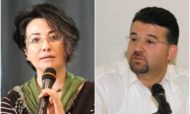 منع مشاركة النائبين زعبي وجبارين بمؤتمرات مناهضة للاحتلال
