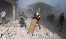 النظام يقصف الغوطة بالكلور قبيل دخول قافلة الإغاثة