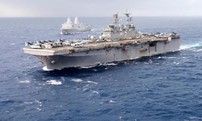 تحطم طائرة حربية للبحرية الأميركية ومصرع ملاحيها