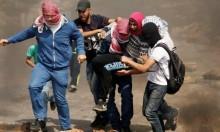 إصابةُ عشرات الفلسطينيين بمواجهات مع الاحتلال في الضفّة وغزّة