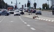 مصرع راكب دراجة هوائية بحادث قرب جلجولية