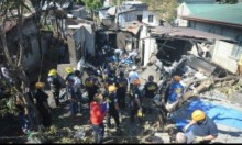 الفلبين: مصرع 10 أشخاص في تحطم طائرة فوق منزل