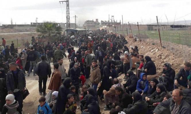 سورية: مواصلة نزوح الآلاف من الغوطة الشرقية وعفرين