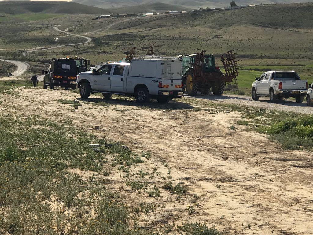 النقب: إبادة المزروعات في قرية سعوة