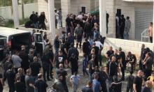 كفر قاسم: تشييع جثمان ضحية جريمة القتل ربيع فريج