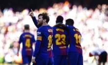 برشلونة يواصل زحفه نحو استعادة لقب الدوري