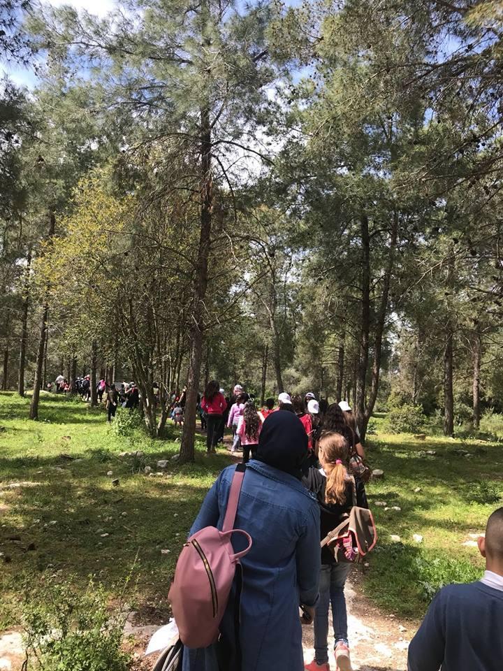 يافة الناصرة: مسيرة الربيع في قرية معلول المهجرة
