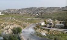 الاحتلال يهاجم مدرسة فلسطينية قُرب بيت لحم بقنابل الغاز