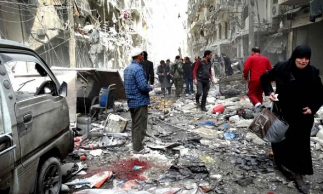 الآلاف يواصلون النزوح عن الغوطة هربا من جرائم الأسد