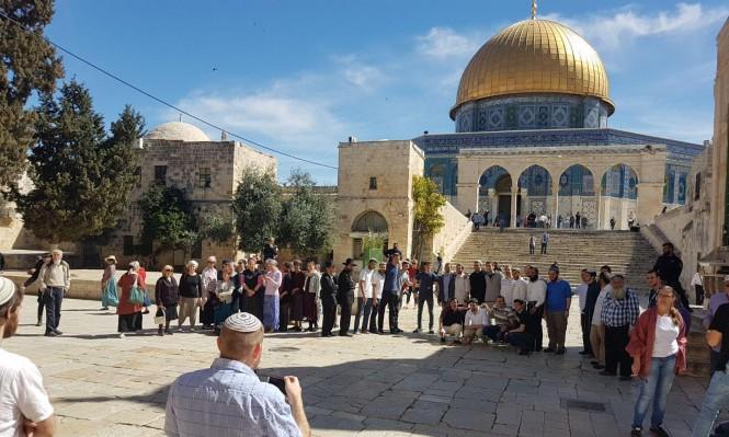 """12 ألف يهودي اقتحموا الأقصى منذ بداية """"العام العبري"""""""